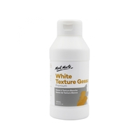 Mont Marte White Texture Gesso 250ml for Preparing Painting Surfers