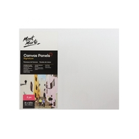 Mont Marte Canvas Panels Pkt 2 20.3x25.4cm