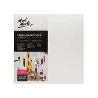 Mont Marte Canvas Panels Pkt 2 30.5x30.5cm