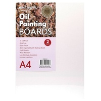 Mont Marte Oil Painting Board A4 2 Pack
