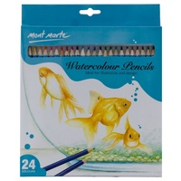 Mont Marte Watercolour Pencils 24pce