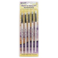 Mont Marte Paint & Sculpt Shapers 5pce