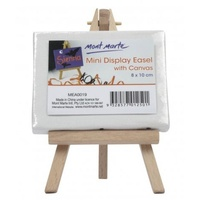 1pce Mont Marte Mini Display Easel with Canvas 8x10cm
