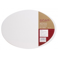 Mont Marte Canvas Oval Double Thick 25.4x35.6cm