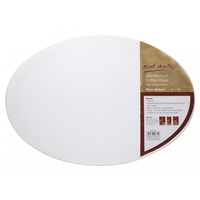 Mont Marte Canvas Oval D.T. 35.6x50.8cm 380 Premium Cotton Duck