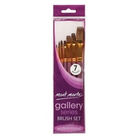 Mont Marte Gallery Series Brush Set Watercolour 7pce