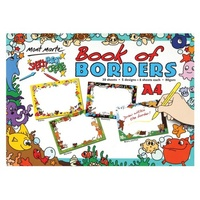 Mont Marte Kids Colour Book of Borders A4