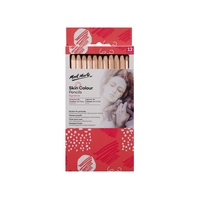Mont Marte Skin Colour Pencils 12pce