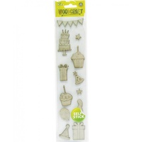 Mont Marte Scrapbooking Borders Paper Trims French Carnival 12pce For Scrapboo
