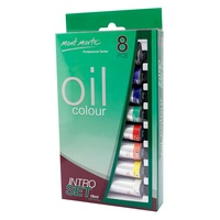 Mont Marte Oil Paint Intro Set 8pce x 18ml