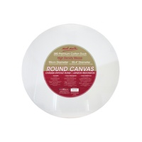 New 6pce (1 Carton) Mont Marte Signature Artist Canvas Round 90cm Single Thick BULK BUY