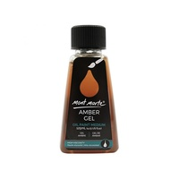 Mont Marte Amber Gel 125ml - Adds Translucency to Oil Paints