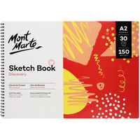 Mont Marte MM Discovery Sketch Book 150gsm A2 420x594mm/16.5x23.4in