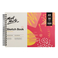 Mont Marte M.M. Discovery Sketch Book A5 30 Sheets 150gsm