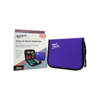Mont Marte Signature Colour & Sketch Wallet Set 28pc