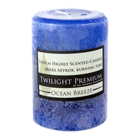 48 Hour Twilight Scented Candle 7x10cm, Ocean Breeze, Premium Range