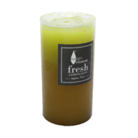 1pce Twilight Premium 7x15cm Pillar Candle - Fresh Lemon Grass