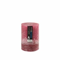 1pce 7x10cm Vivid Aroma Scented Pillar Candle - Lavender