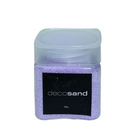 Purple 900g Deco Sand Coloured 3 x 300g Tubs with Screw Lid