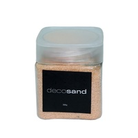 Orange 900g Deco Sand Coloured 3 x 300g Tubs with Screw Lid