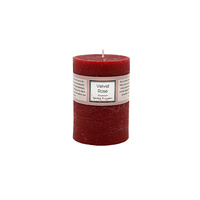 Premium 6.8cm x 9.5cm Velvet Rose Essential Oil Scented Candle