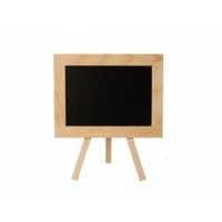 15X17Cm Mini Blackboard With Tripod Stand Mdf, Paties, Weddings, Café'S