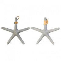 1pce 38cm Realistic Starfish Feature Decor with Rope