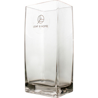 New 1pce Glass Vase 10CMX8CMX22CM Rectangle Home Kitchen Plant Décor Display