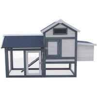 COTTAGE STYLE CHICKEN COOP WITH RAMP