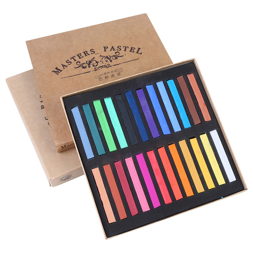Masters 24pce Premium Pastels Pack In Assorted Colours In Gift Box