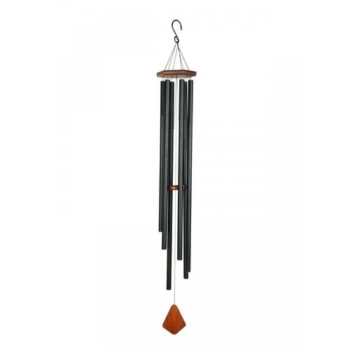 150cm Jet Black Premiere Grand Wind Chime, Zen sounds, Quality