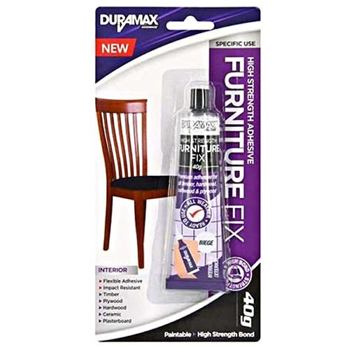 1pce Furniture Fix Glue in Beige, High Strength, Paintable 40g Tube