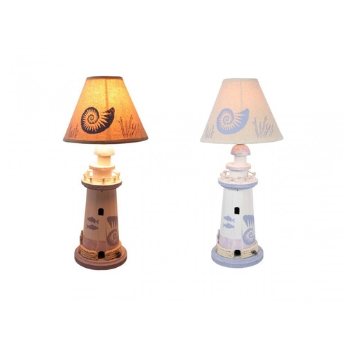 42cm Light House Table Lamp, Beach House