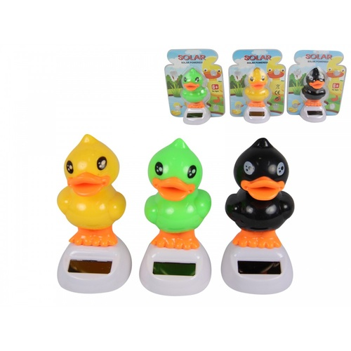 Complete Set of 3 Solar Powered Duck Groovers in 3 Assorted Colours Multi Buy!!