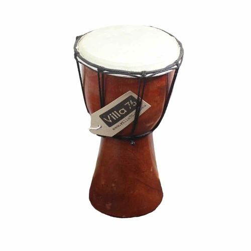 25cm Bongo / Djembe Drum, Goat Skin Hyde Mahogony Wood Great Musical Value!!